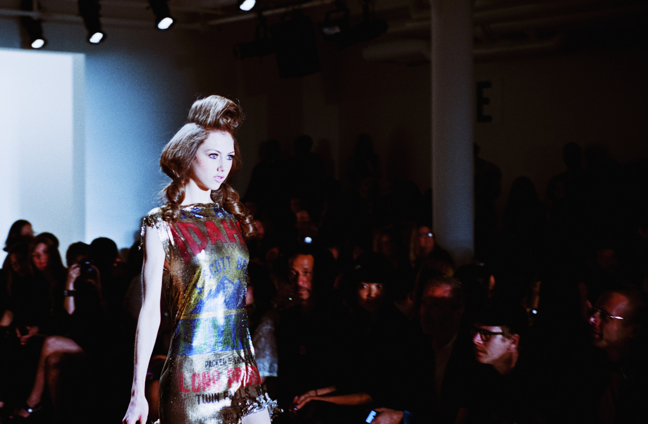 Jeremy Scott, New York Fashion Week Spring 2012   Leica M7, 50mm Summicron & Kodak Portra 400