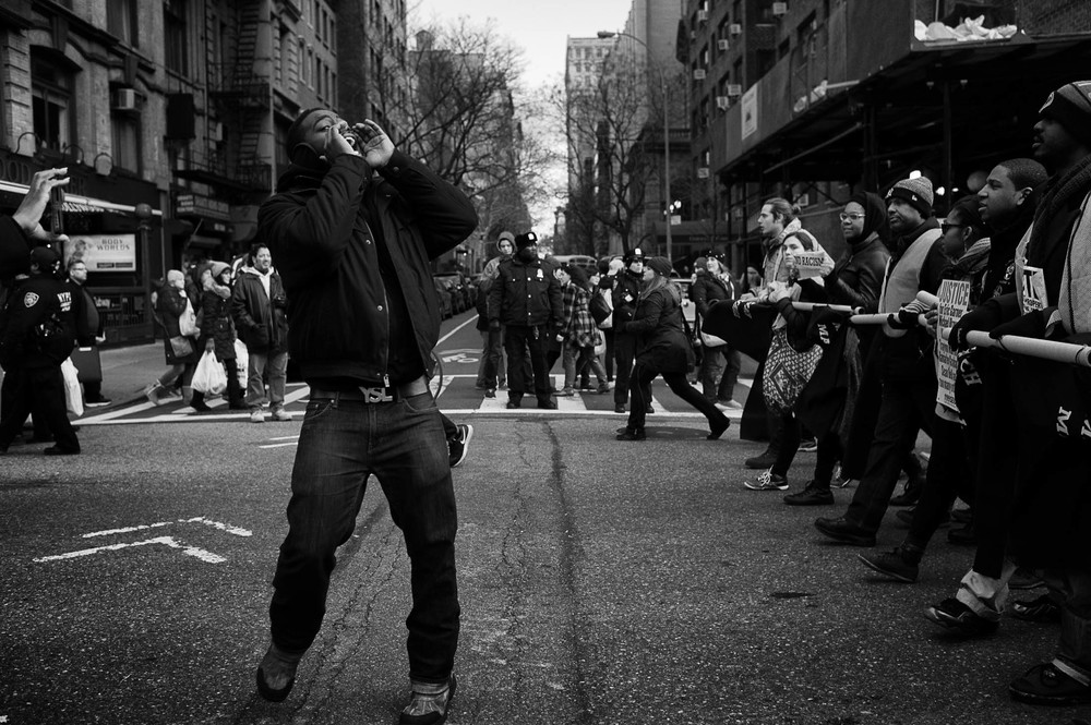"Millions March NYC (2014) 12""x18"" Archival Pigment Print, Edition of 10 - $300"