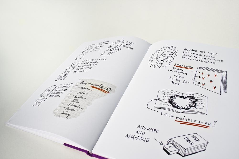 Buchobjekte - Eine Comic Dokumentation