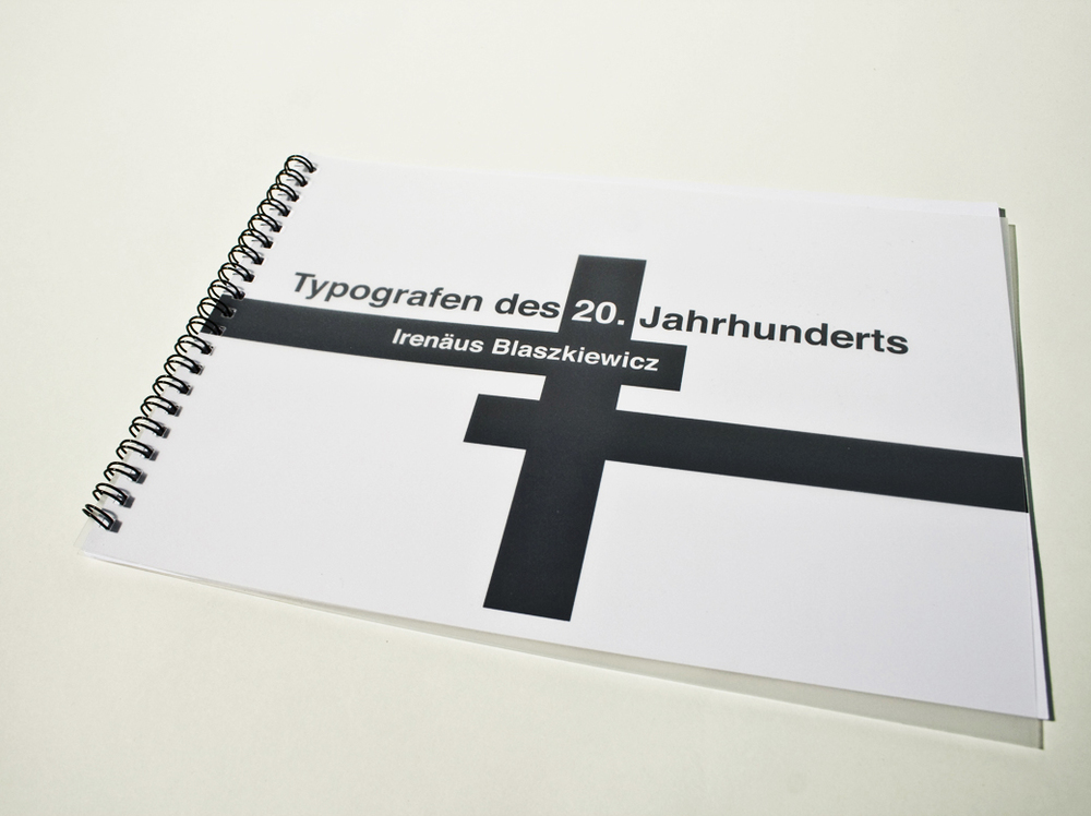 Typografen des 20. Jahrhunderts