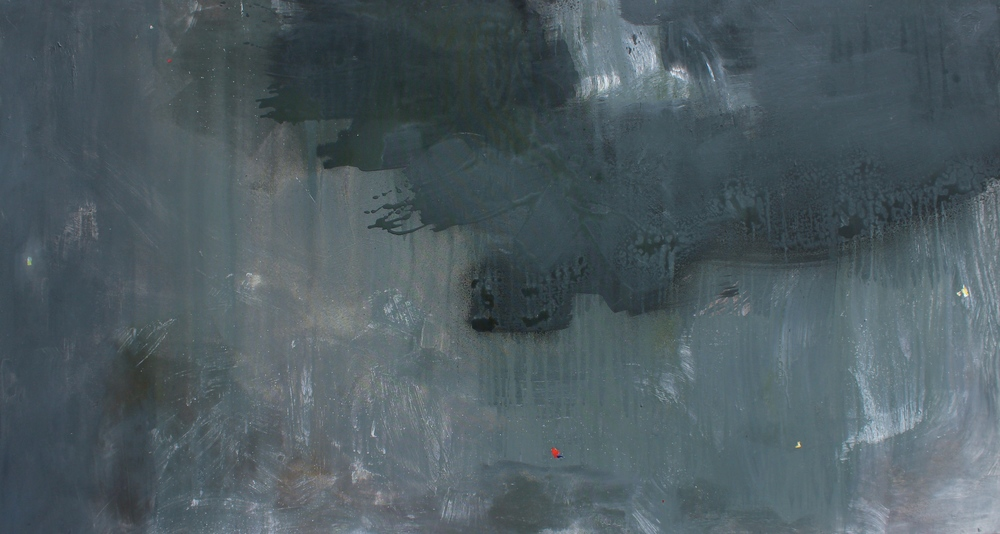 """Acrylic on canvas.  77"""" x 43"""""""