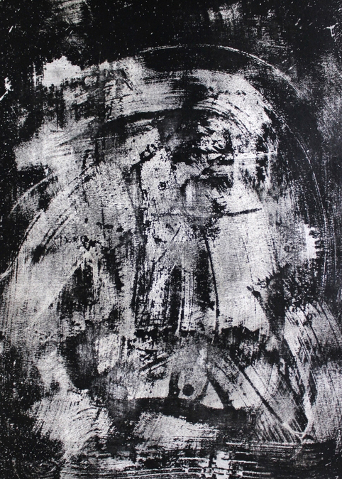 """Ink and bleach on paper.  24"""" x 18"""""""