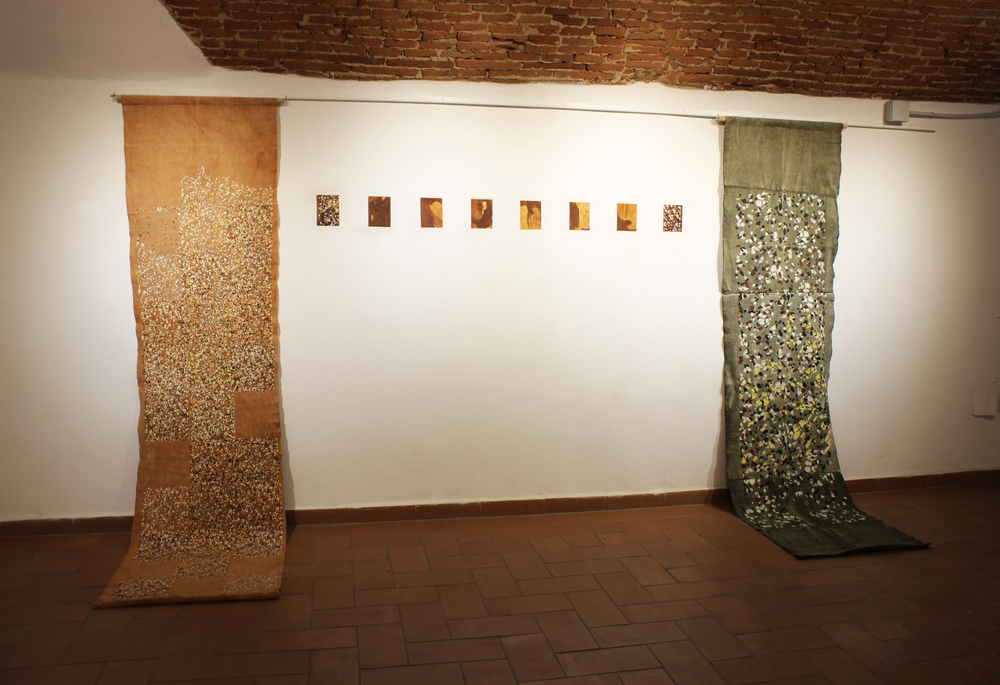 Installation shot in  OnArt Gallery , Florence, Italy.