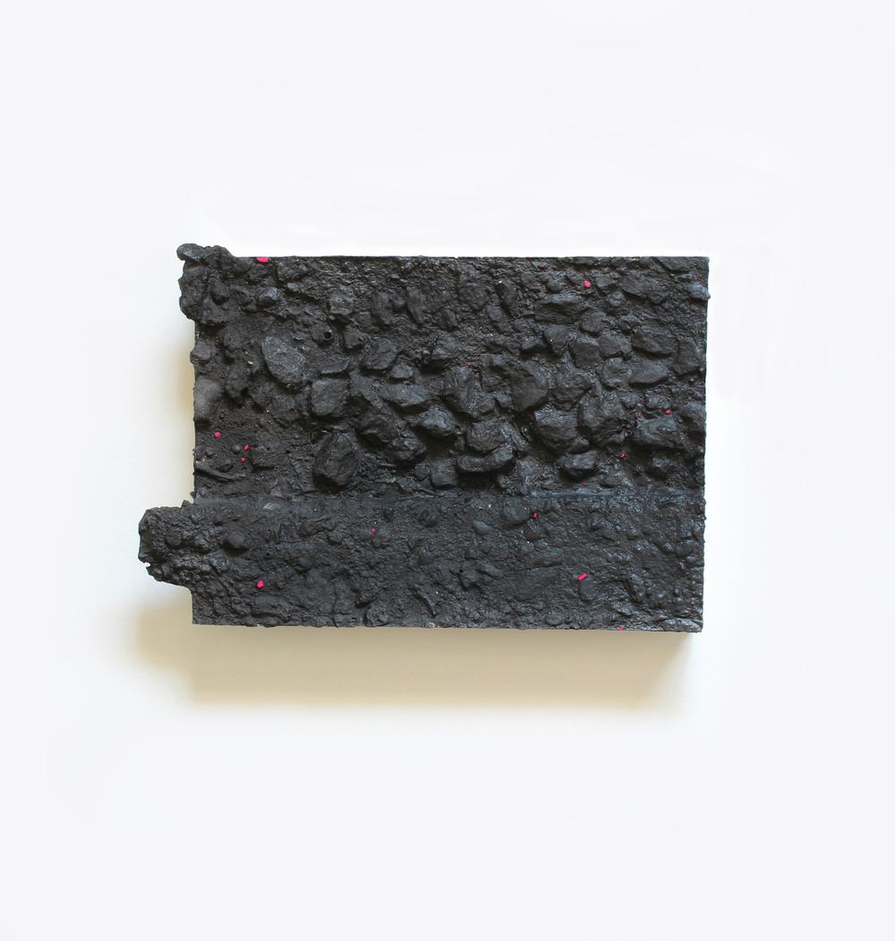 Elise  no. 13  Acrylic on plaster  13cm x 18cm