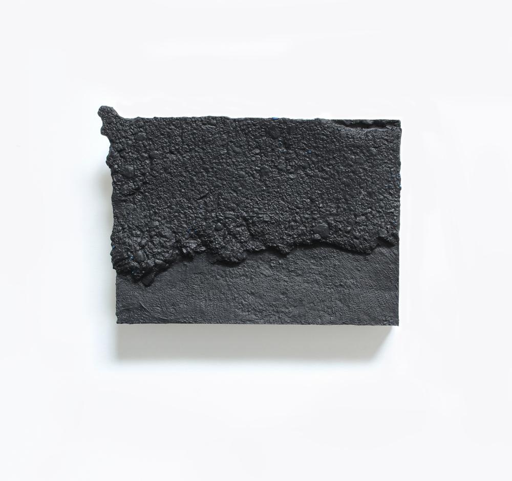Elise  no. 18  Acrylic on plaster  13cm x 18cm