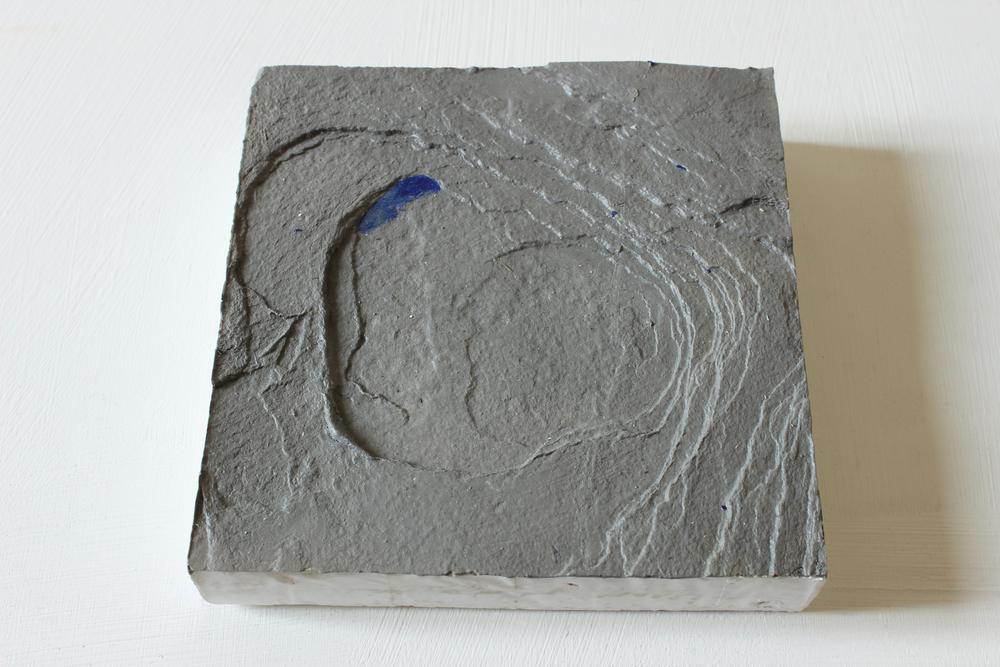 Acrylic on plaster  15cm x 15cm