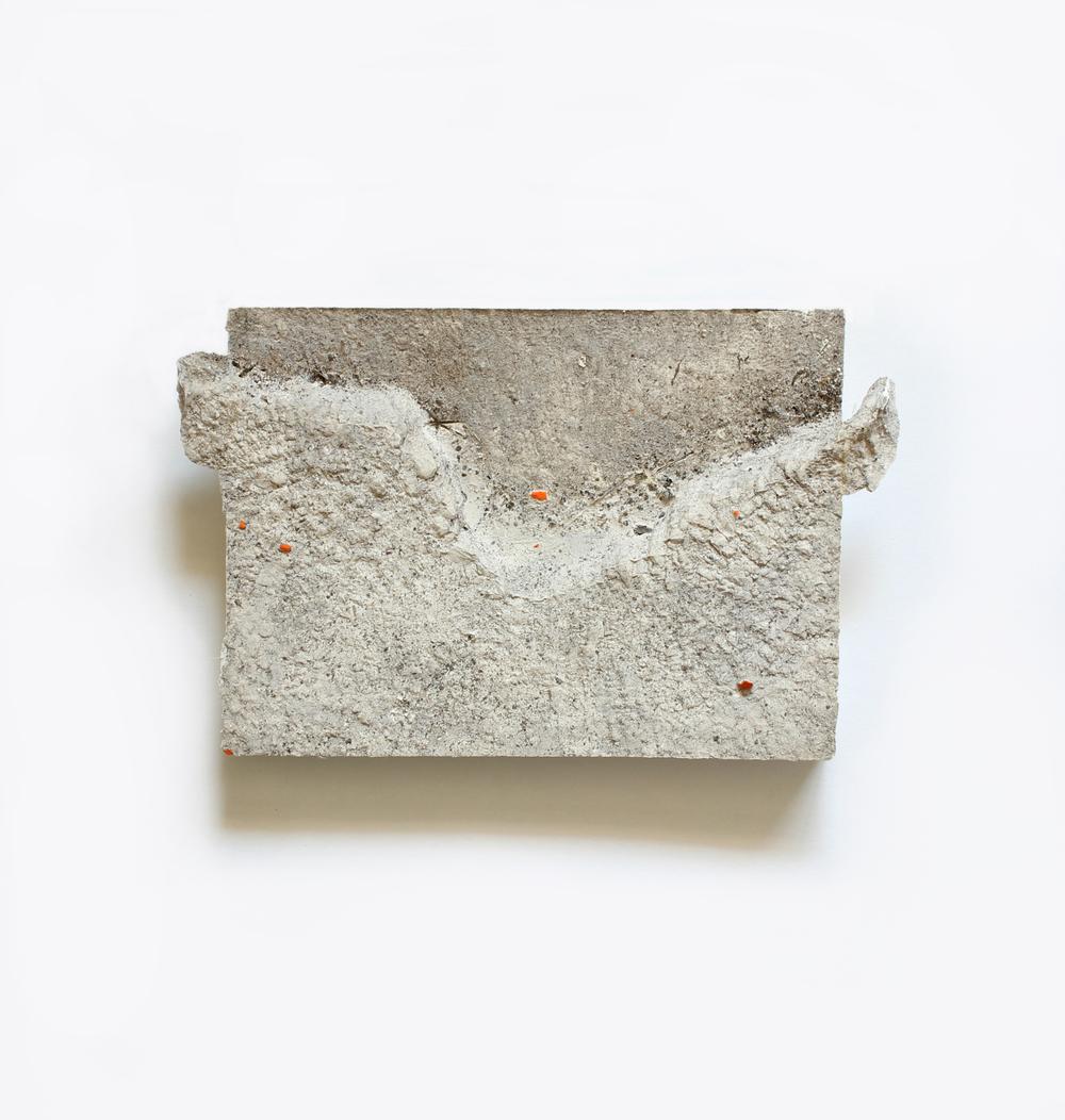 Elise  no. 15  Acrylic on plaster  13cm x 18cm