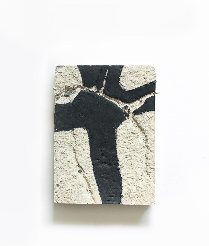 Elise  no. 9  Acrylic on plaster  13cm x 18cm