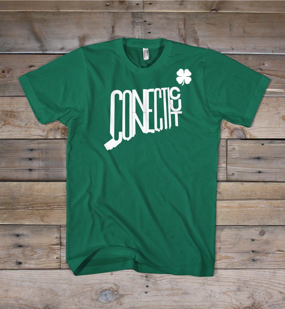 Connecticut St. Patrick's Day Shirt