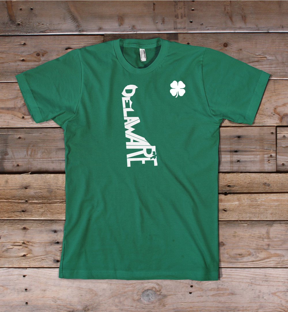 Delaware St. Patrick's Day Shirt