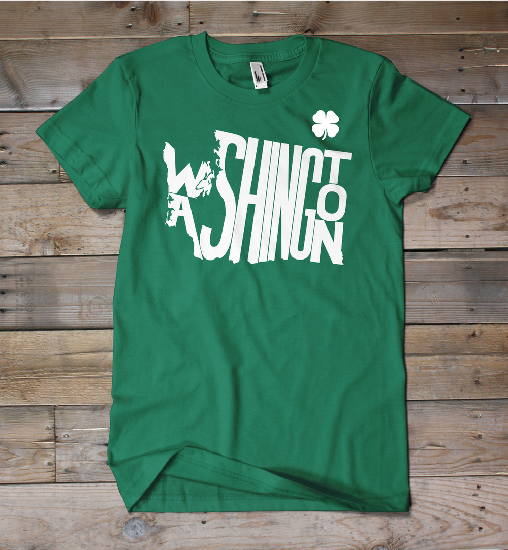 Washington St. Patrick's Day Shirt