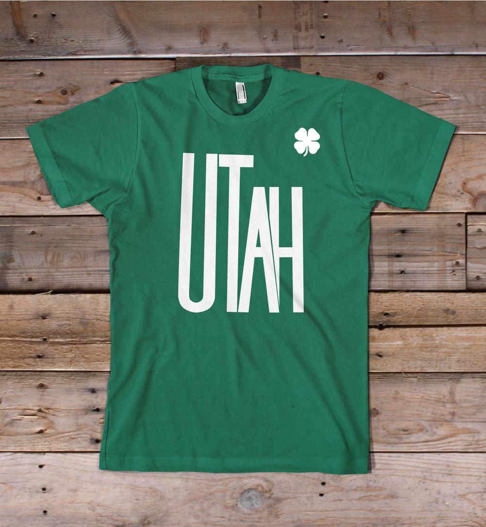 Utah St. Patrick's Day  Shirt