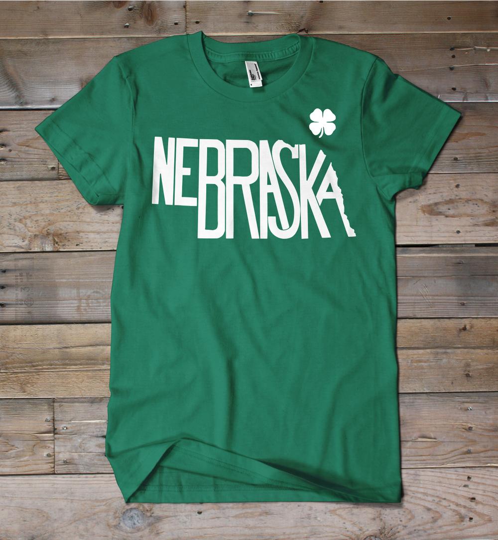 Nebraska St. Patrick's Day Shirt