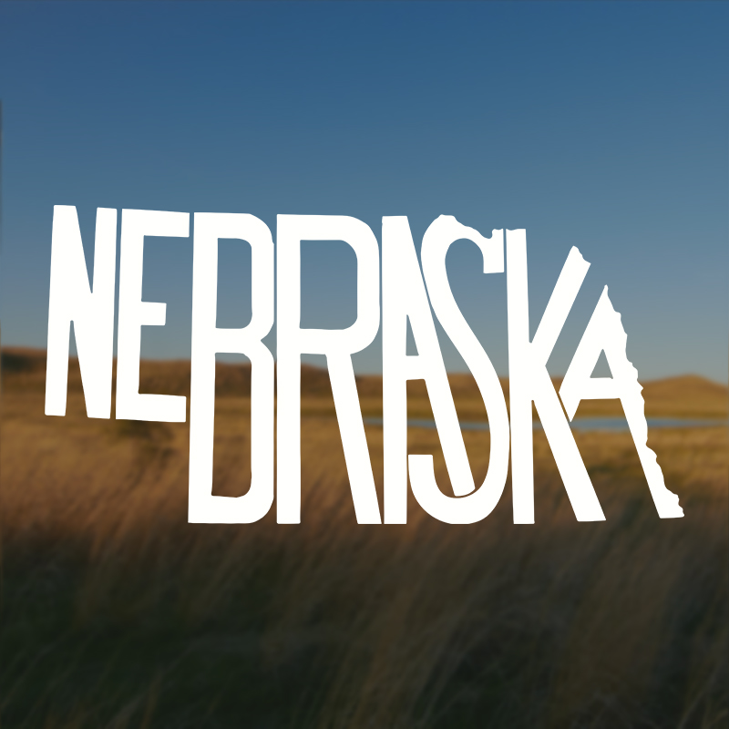 Nebraska Stately Decal