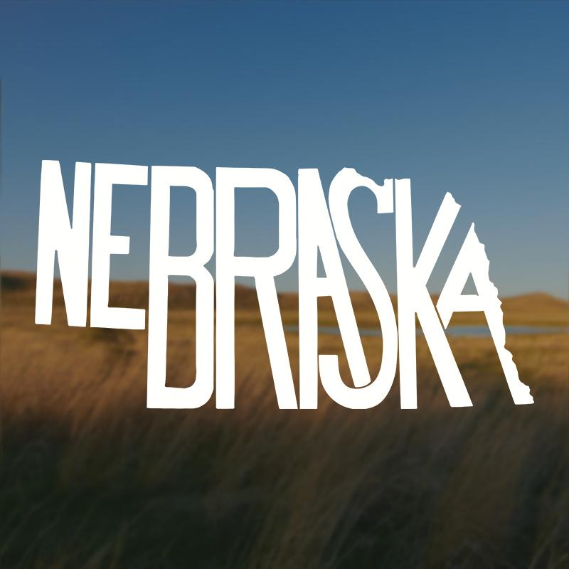 Nebraska Stately Decal