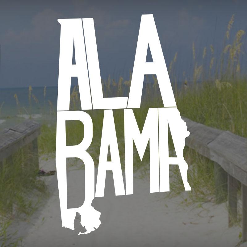 Alabama Stately Decal