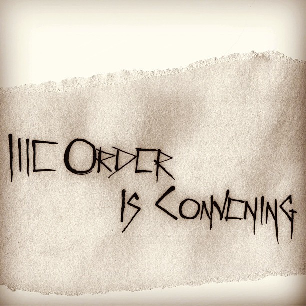 #theorder #clandestine #secretsociety #whisper #magic #thisistheorder