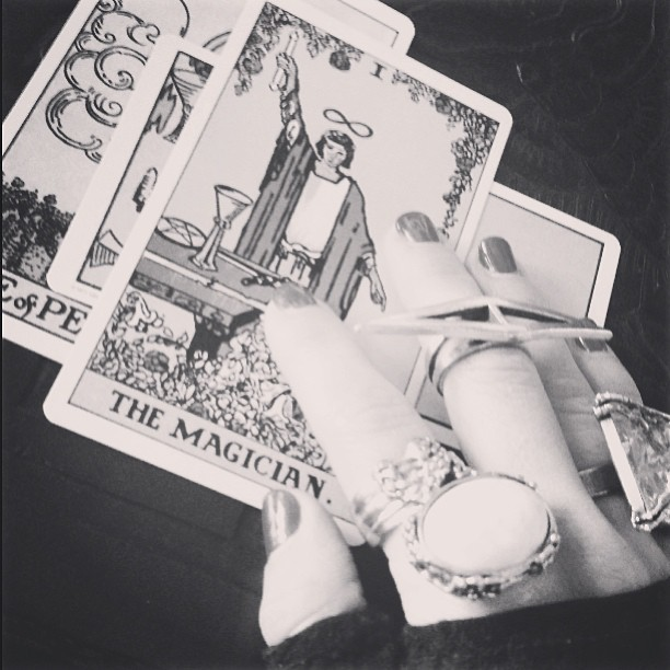 as above, so below. #theorder #magic #tarot #themagician #limitless  #divination