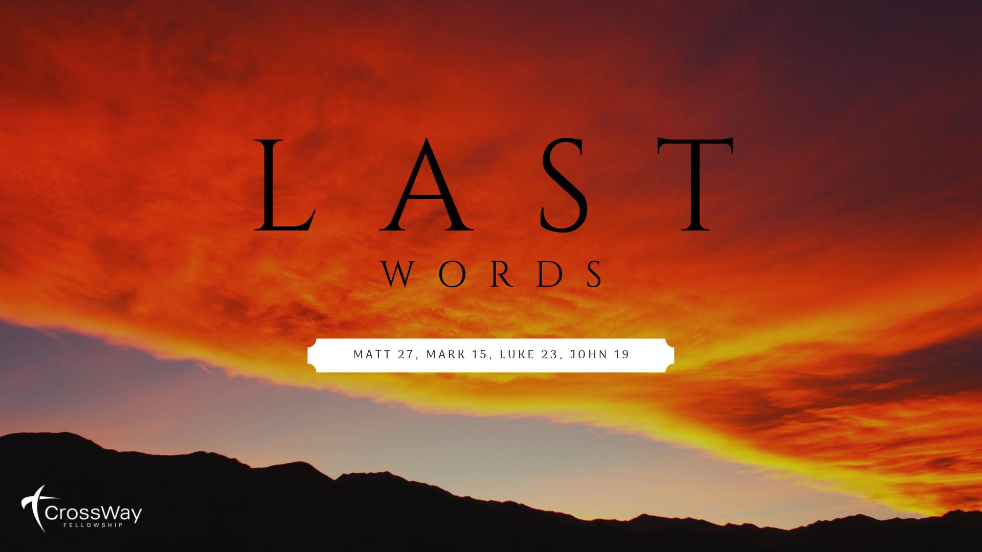 Sermon-List — Crossway Fellowship