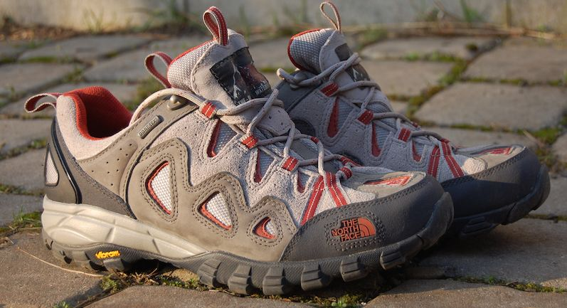 trekking shoes with GoreTex upper