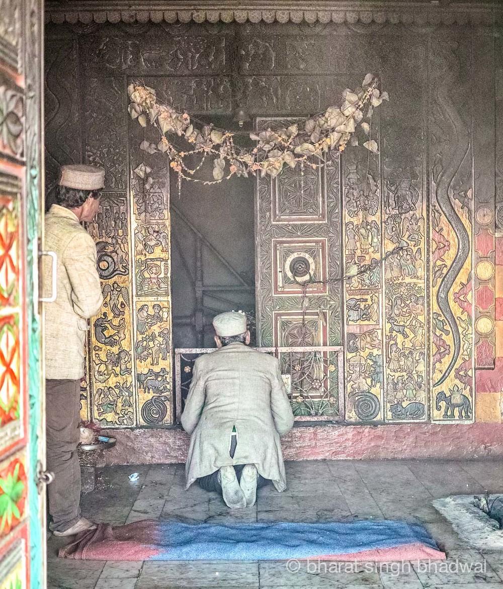 Bijli Mahadev,inner sanctum.