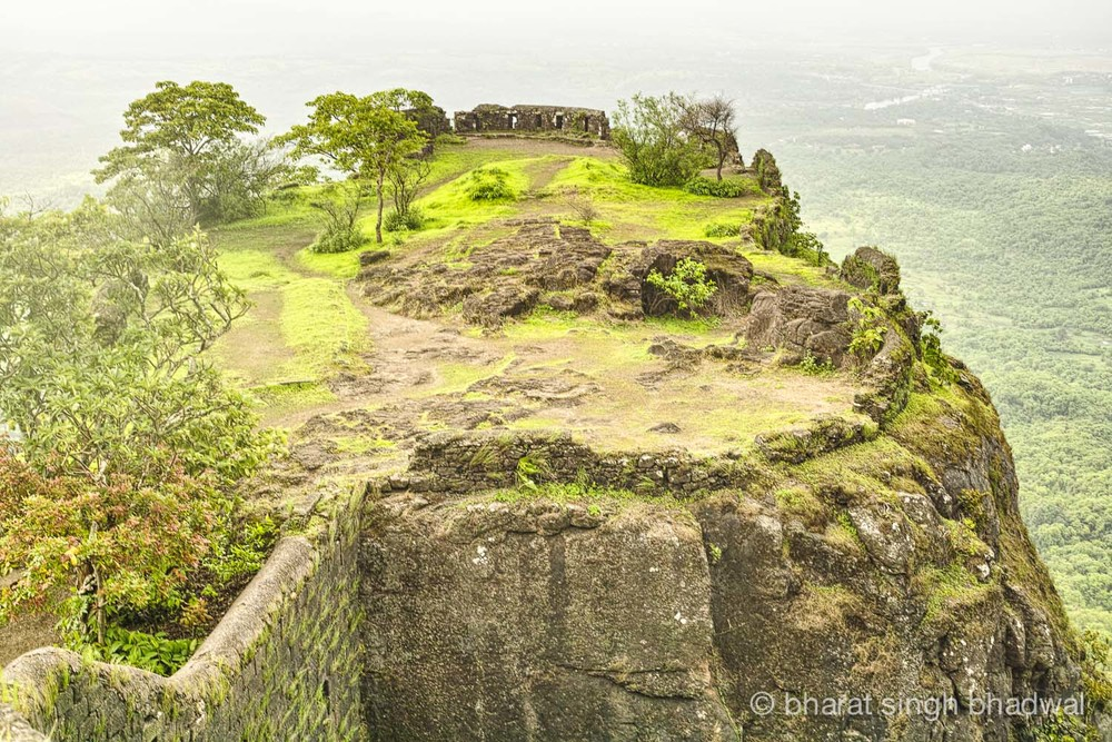 Karnala fort bastion. The best viewpoint and the place to relax.