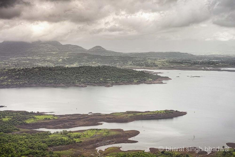 Morbe Dam reservoir