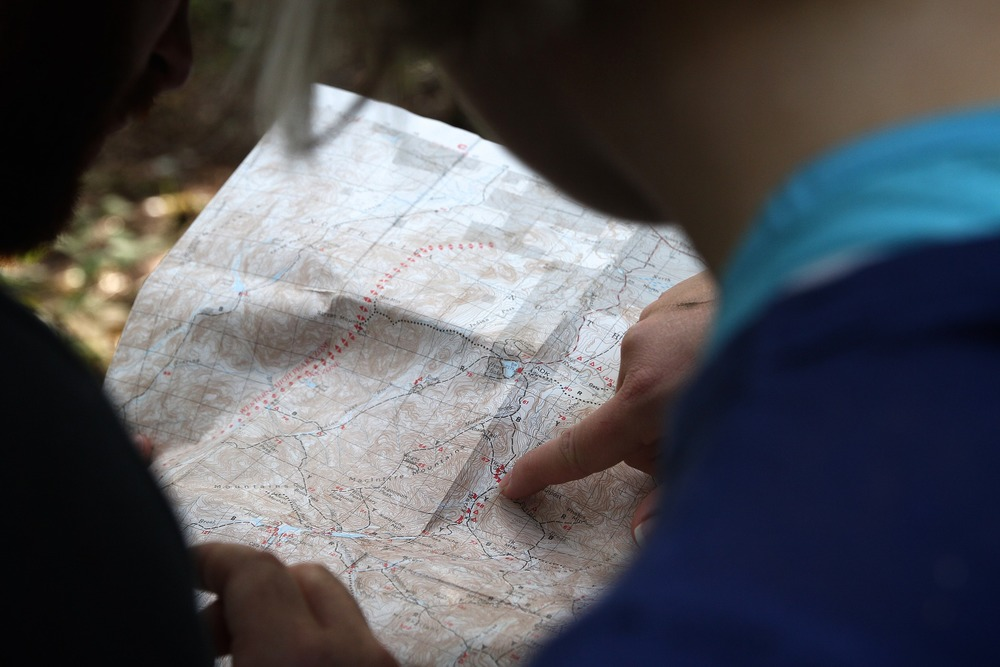 Learning to use a compass and paper maps may save your life one day.
