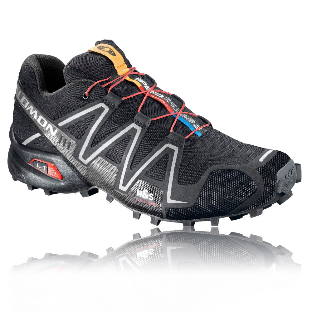 Salomon's Speedcross 3. Breathable mesh upper and luged out sole