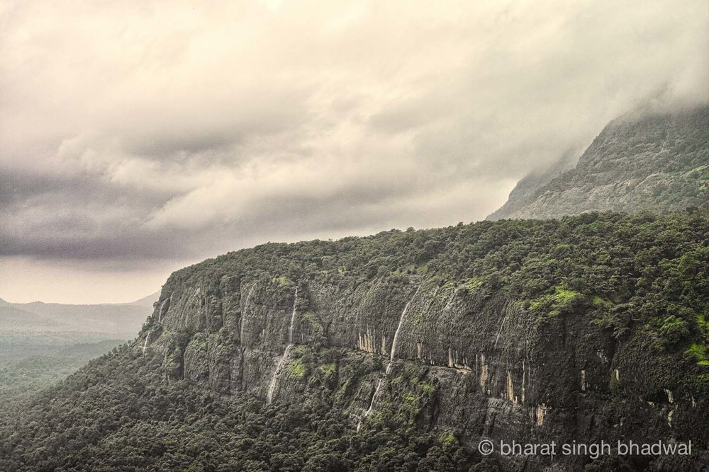 The magnificent Bhimashankar's walls