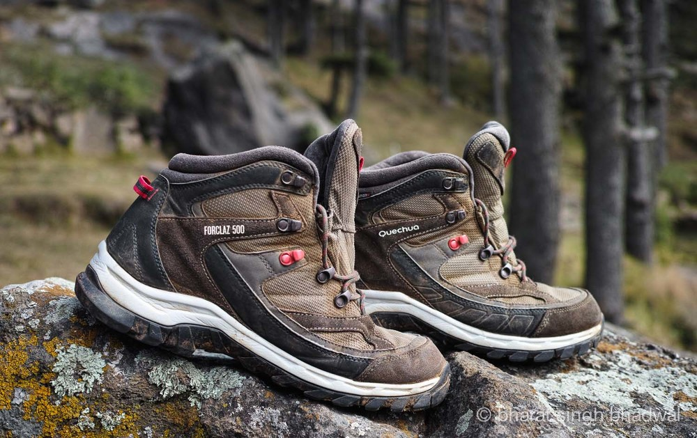 Quechua Forclaz 500 Wenge, especially suited to a rocky terrain