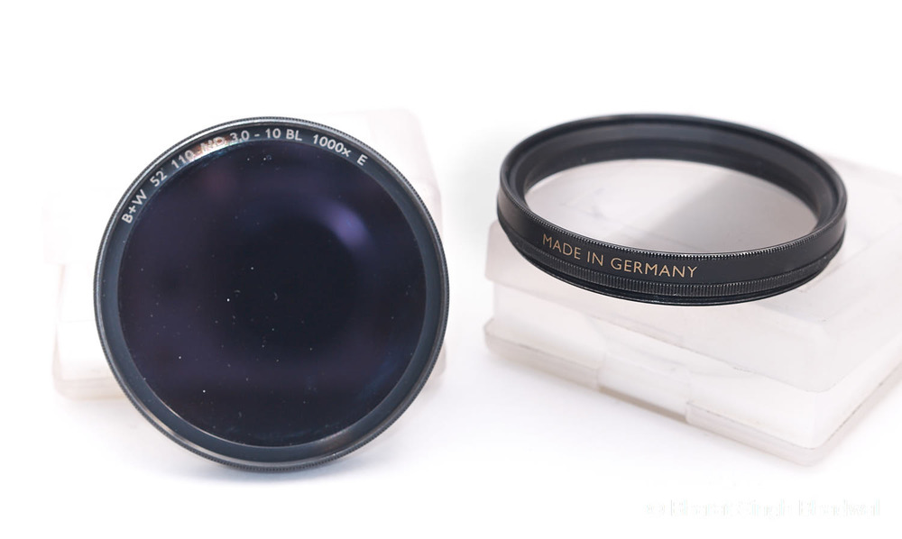 B+W filters, made in Germany and optically excellent