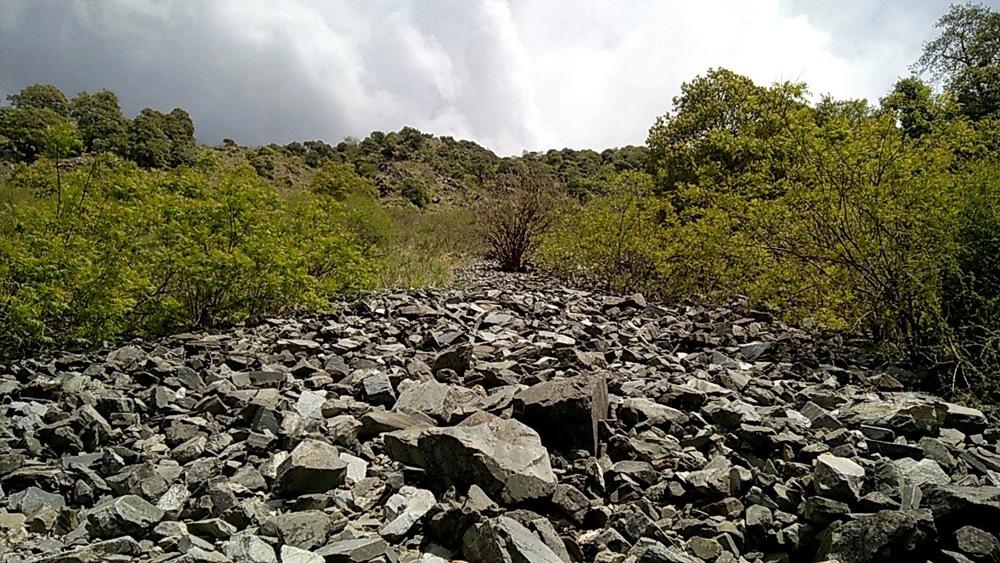 Rockslide en-route