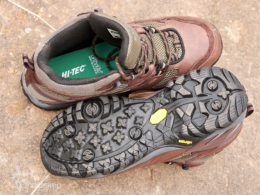 HI-TEC® ALPHA TRAIL MID WP out of the box
