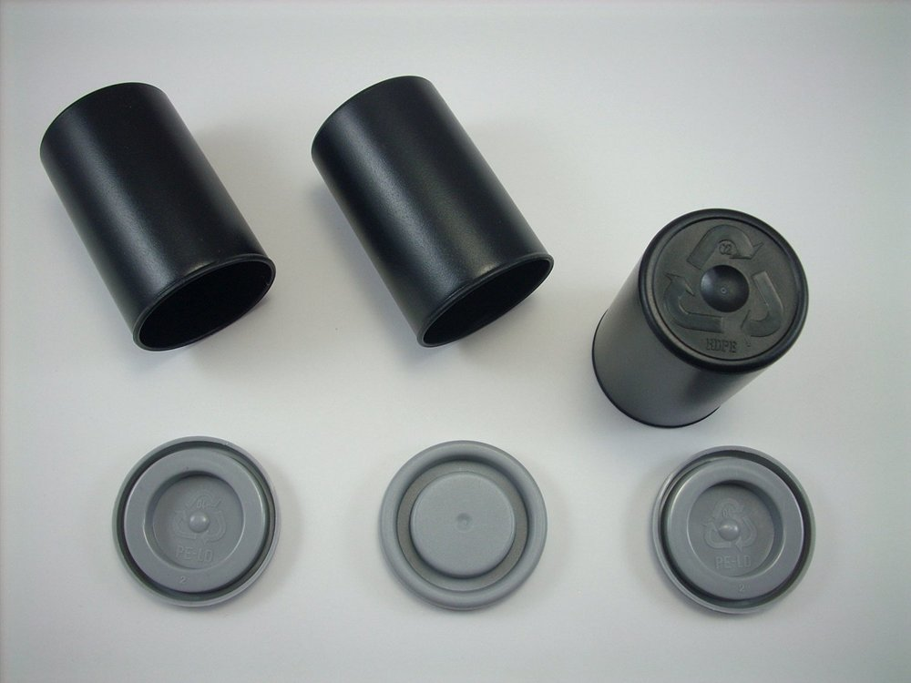 Do you remember these analog camera film canisters? They make excellent air/water tight containers for treks.