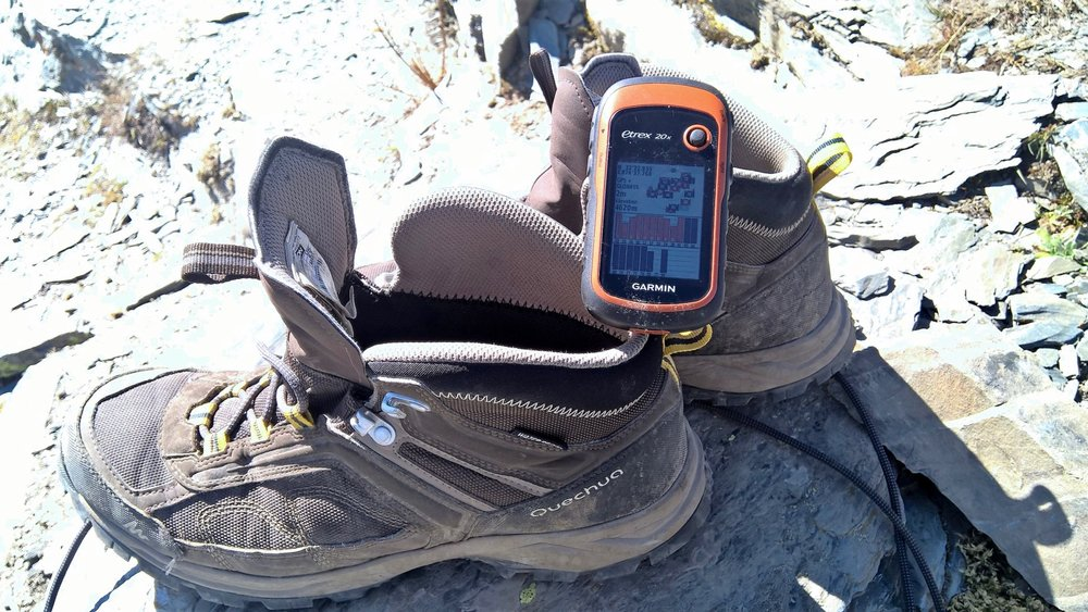 Garmin Etrex 20x at Kalah Pass (4620m) September 2016.