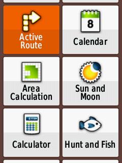 Garmin Etrex 20x User Interface