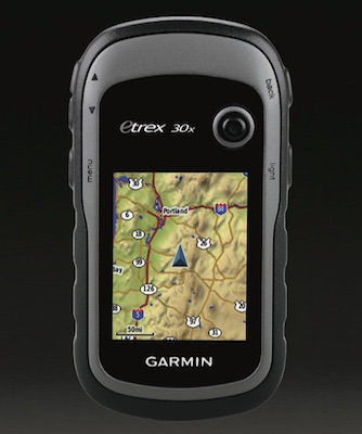 Garmin Etrex 30x with additional sensors