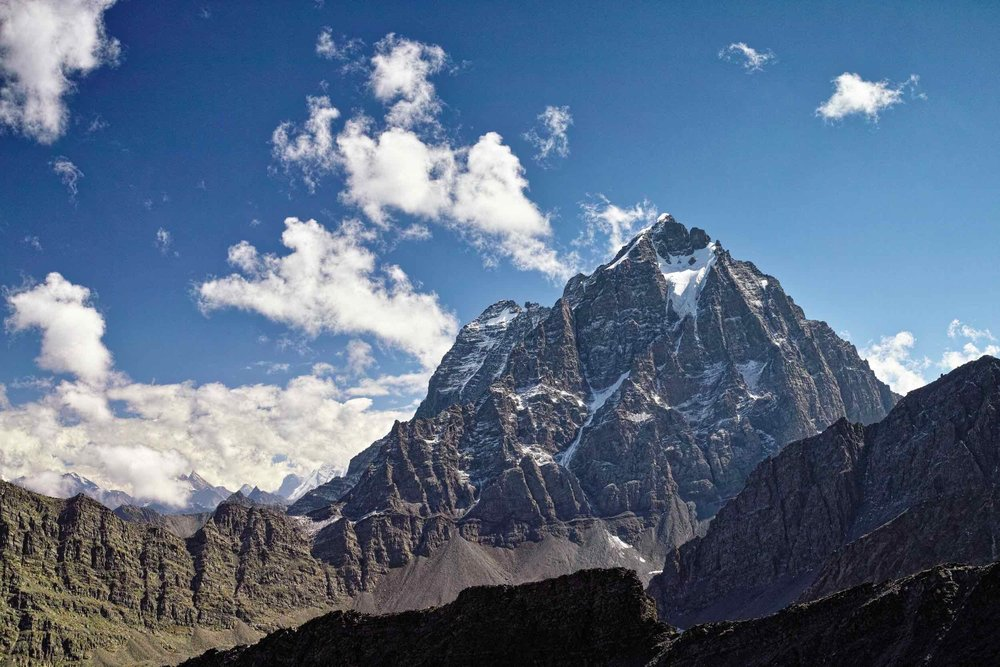 Chamba Kailash from Kalah pass