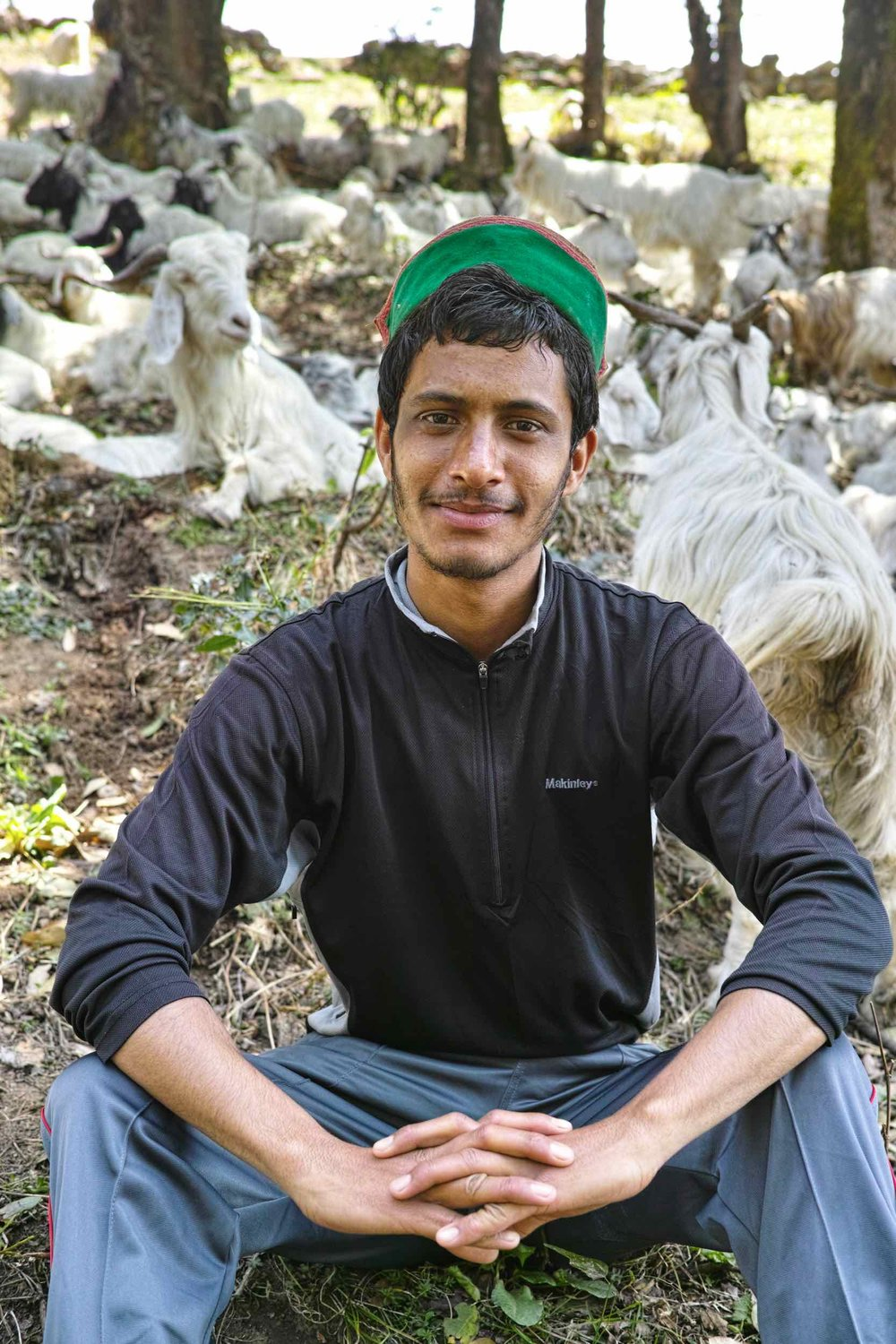 Amit Chauhan, an aspiring soldier and a Nag Tibba expert par excellence. His knowledge about the flora and fauna at Nag Tibba is phenomenal.