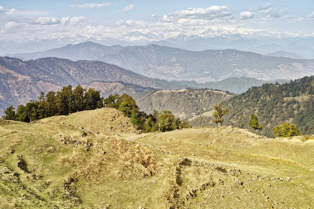 Perhaps not as panoramic as the view from Chinyali Thatch, but by no means a poor point of view. All this only 45 minutes from Nag Tibba on an easy (child-friendly) trail. No excuse to miss this