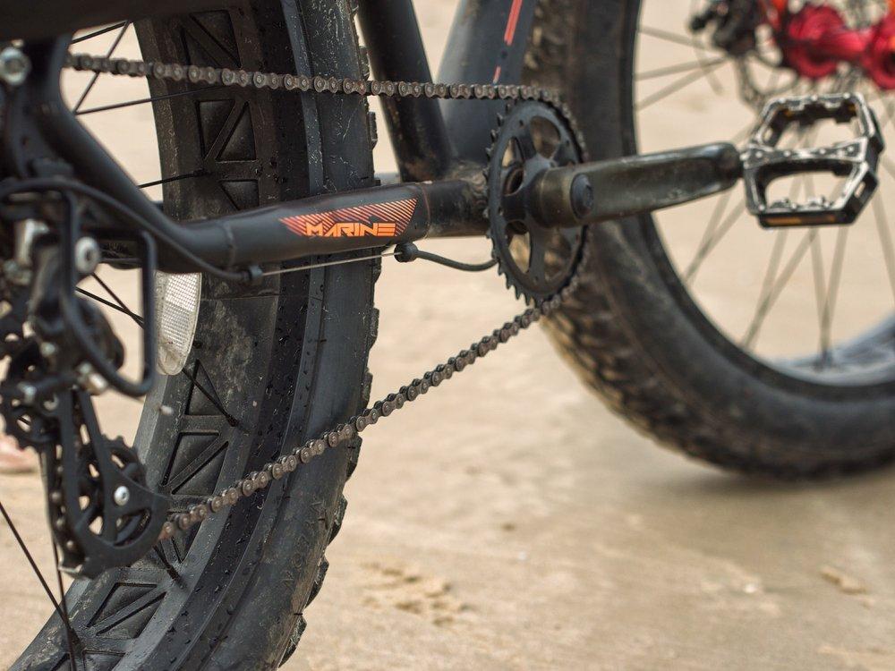 Fittrip Marine Fatbike Review India Konkan Bicycle Touring Drivetrain 1.jpg