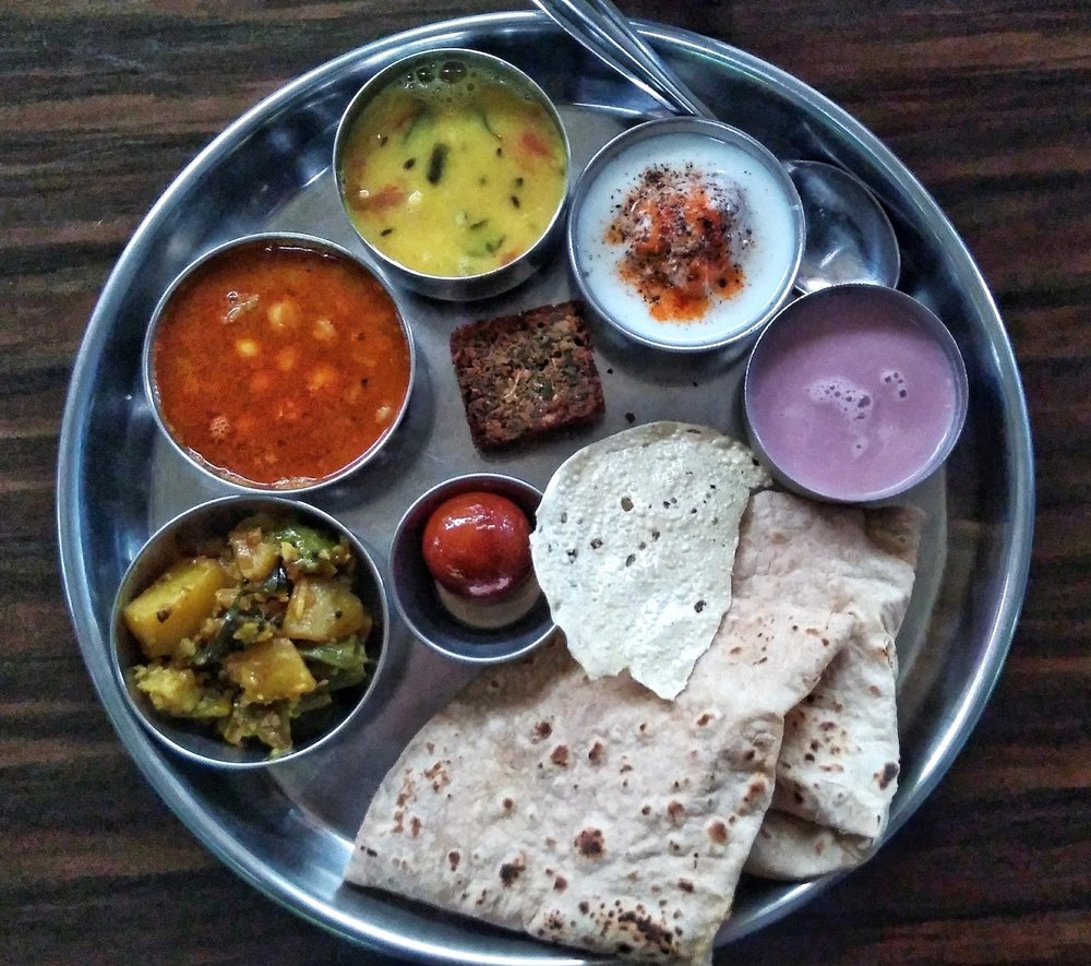 Konkan Thali - and this is just the veg version!