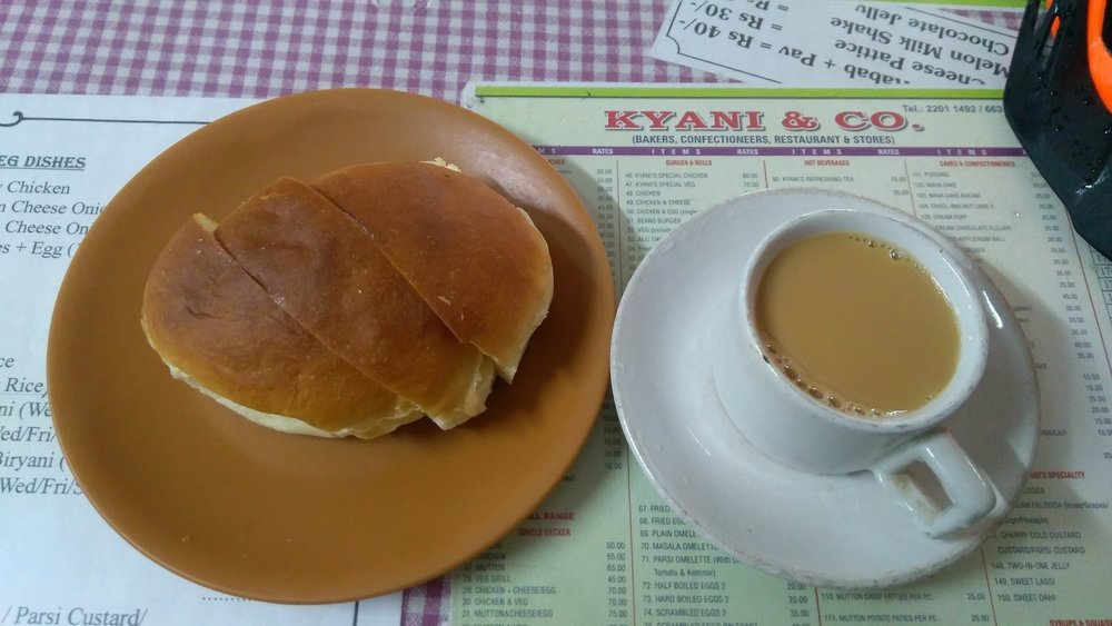 Kyani bakery on a bicycle