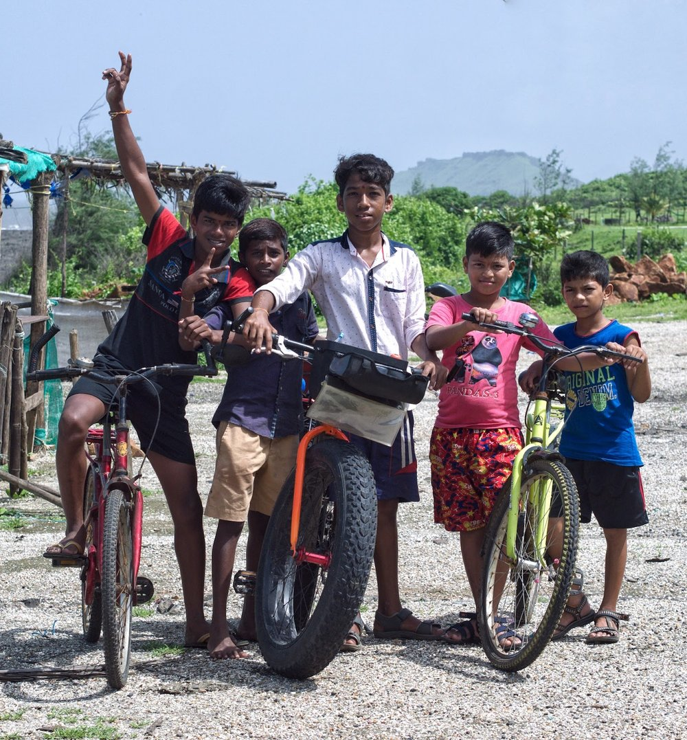 fatbike kashid mumbai goa bicycle tour india