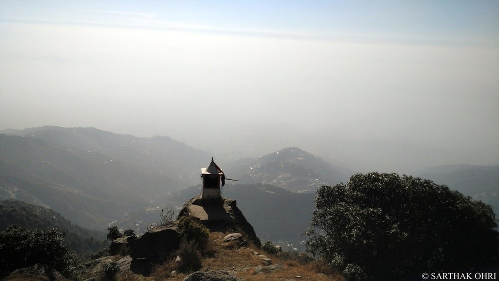 Best Viewpoint just an hour away from Mcleodganj. Reproduced with permission © Sarthak Ohri.