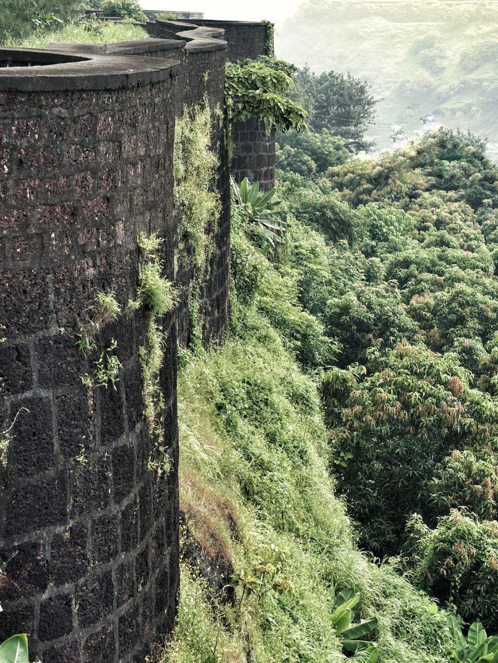 Ratnadurg Fort Bastions