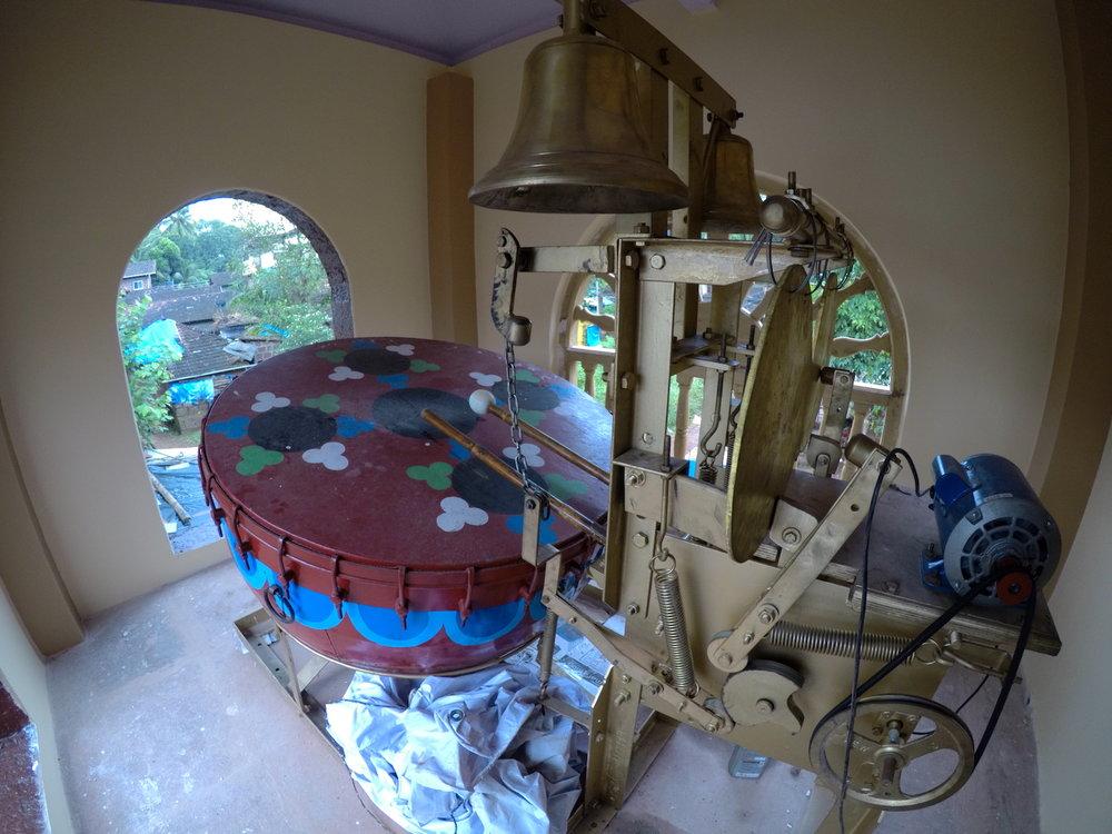 Adivare Mahakali Temple drum