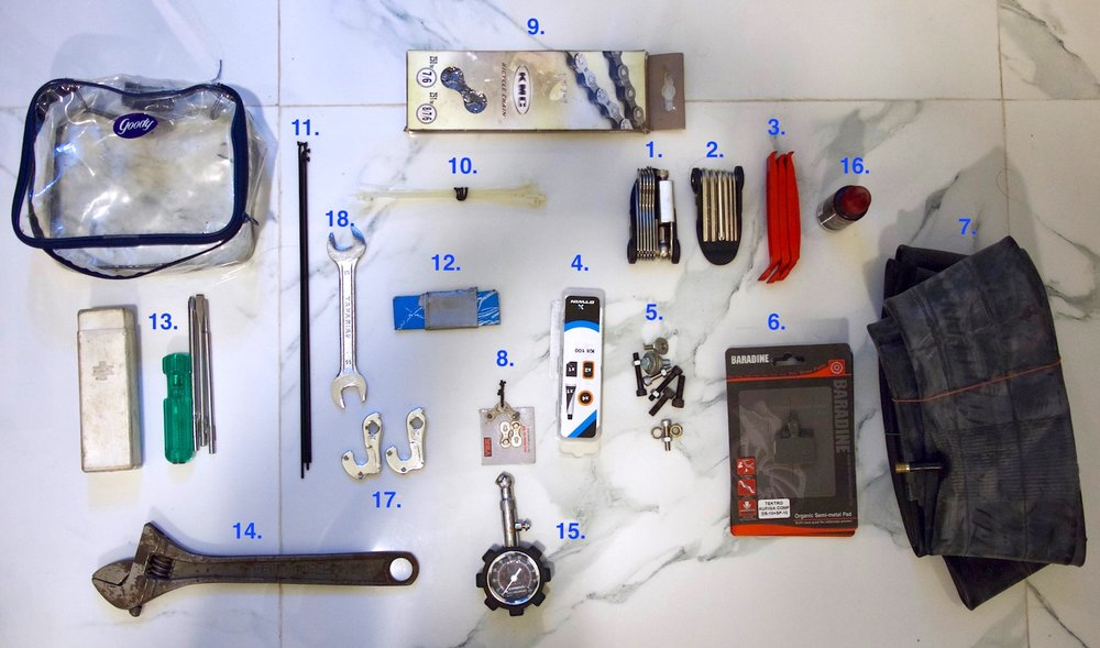 India bicycle touring gear.jpg