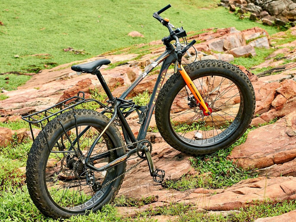 A comfortable cockpit and a reliable rack are must have for a bicycle tour. The gearing will depend on the terrain you intend to ride on.
